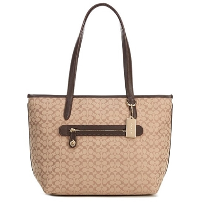 Picture of Coach Signature Taylor Tote