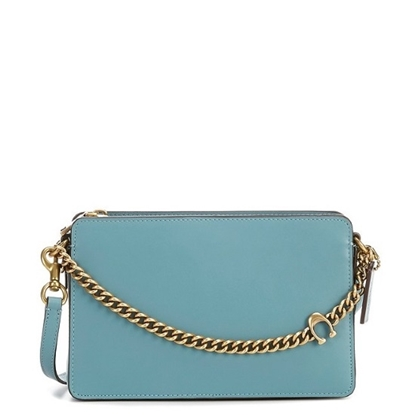 Picture of Coach Leather Signature Chain Crossbody