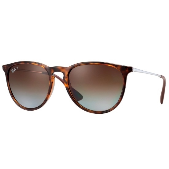 Picture of Ray-Ban® Erika Classic Polarized - Tortoise/Brown Gradient