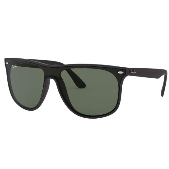 Picture of Ray-Ban® Blaze Nylon Sunglasses - Black/Green Classic Lens