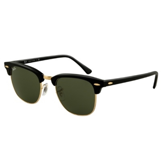 Picture of Ray-Ban® Clubmaster Sunglasses - Black Top/Arista Lens