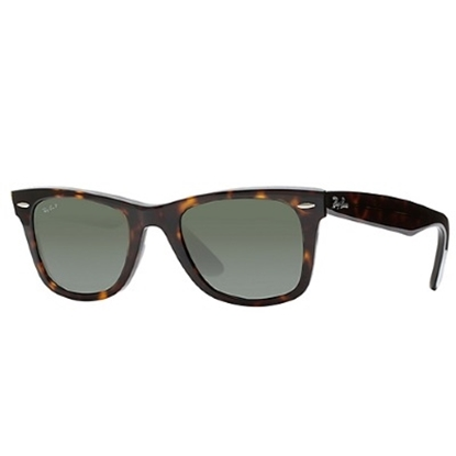 Picture of Ray-Ban® Original Wayfarer Sunglasses- Polarized Tortoise