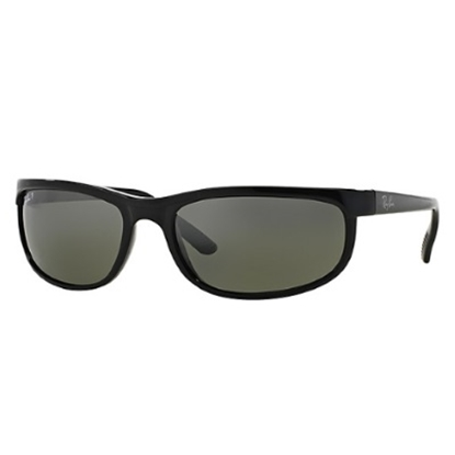 Picture of Ray-Ban® Polarized Predator 2 Sunglasses - Black/Gray Lens