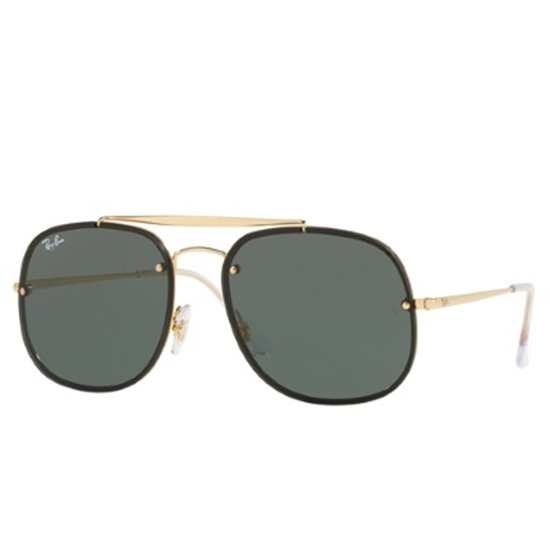 Picture of Ray-Ban® Blaze General Sunglasses- Gold/Green Classic Lens