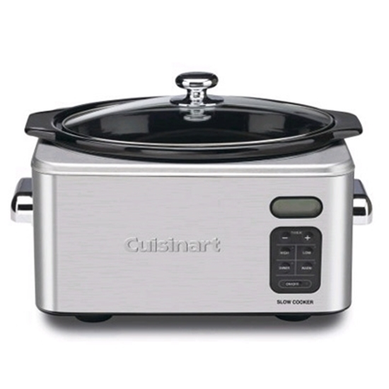 Picture of Cuisinart® 6.5-Quart Stainless Steel Slow Cooker