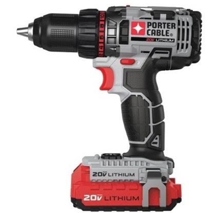Picture of Porter Cable 20V MAX* 1/2'' Lithium Ion Drill/Driver Kit