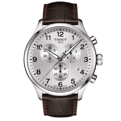 Picture of Tissot Chrono XL Classic Watch with Brown Leather Strap