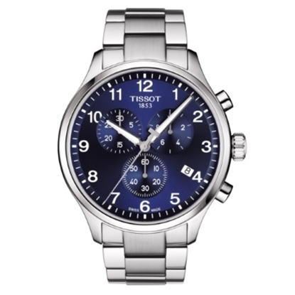 Picture of Tissot Chrono XL Classic Watch with Blue Dial