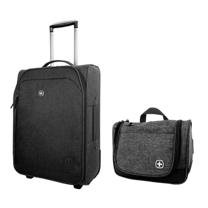 Picture of Wenger Urban Tourist 20'' Pilot Case and Toiletry Kit - Grey