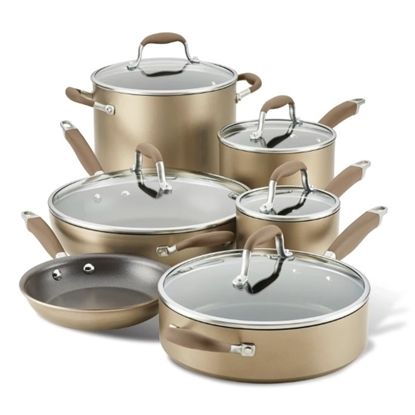 Picture of Anolon Advanced Hard Anodized 11PC Cookware Set