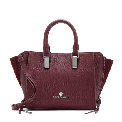 Picture of Vince Camuto Riley Small Satchel - Plum