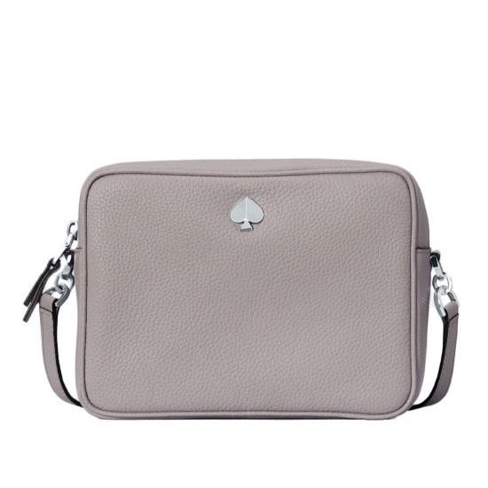 Mileageplus Merchandise Awards Kate Spade Polly Medium Camera Bag True Taupe