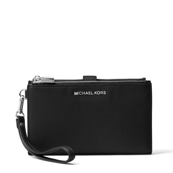 Picture of Michael Kors Double Zip Wristlet - Black