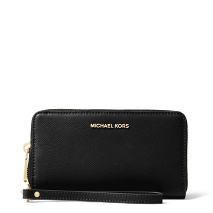 Picture of Michael Kors Jet Set Large Multifunction Phone Case - Black