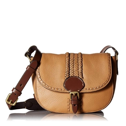 Picture of Cole Haan Loralie Whipstitch Mini Saddle - Camel/Saddle