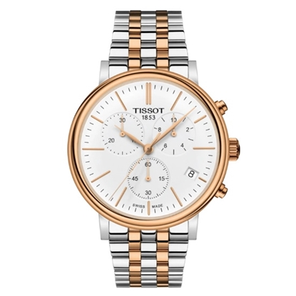 Picture of Tissot Carson Premium Chrono Two-Tone Stainless Steel Watch