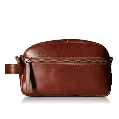 Picture of Timberland Nevada Leather Travel Kit - Cognac