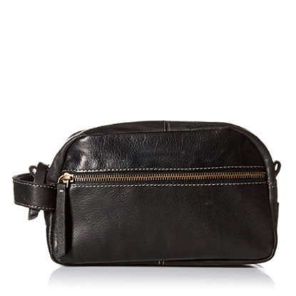 Picture of Timberland Nevada Leather Travel Kit - Black