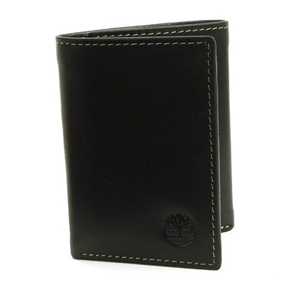 Picture of Timberland Cloudy Trifold Wallet - Black