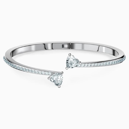 Picture of Swarovski Attract Soul Heart Bangle - Medium