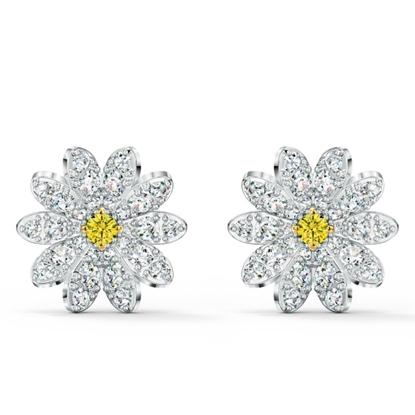 Picture of Swarovski Eternal Flower Pierced Earrings
