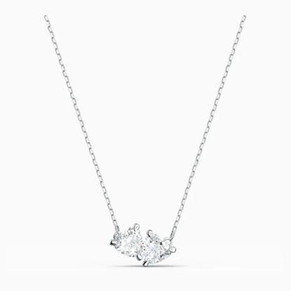 Picture of Swarovski Attract Soul Necklace - White/Rhodium
