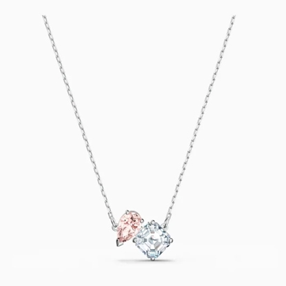 Picture of Swarovski Attract Soul Necklace - Pink/Rhodium