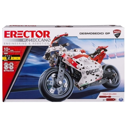 Picture of Spinmaster Ducati GP Motorcyle Building Kit