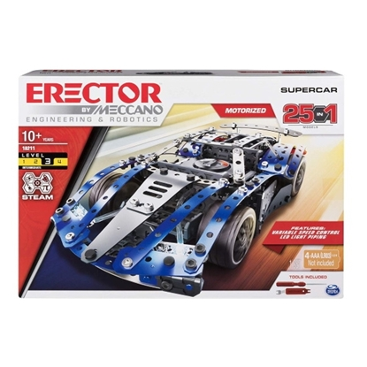 Picture of Spinmaster 25-in-1 SuperCar Building Kit