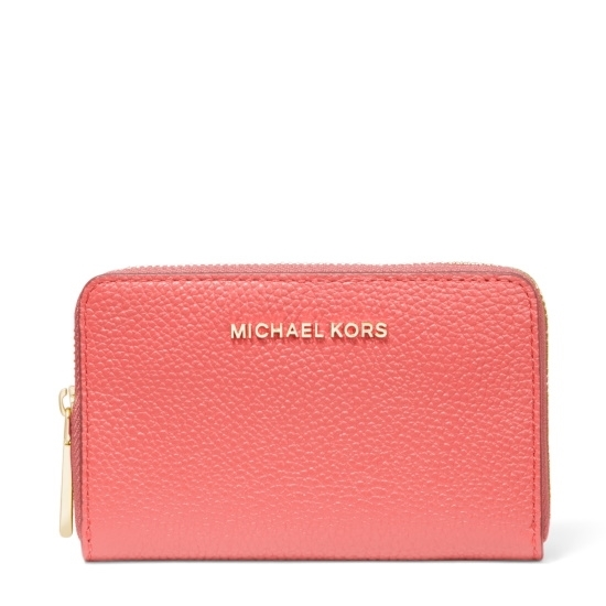 Picture of Michael Kors Jet Set Small Zip Card Case - Pink Grapefruit