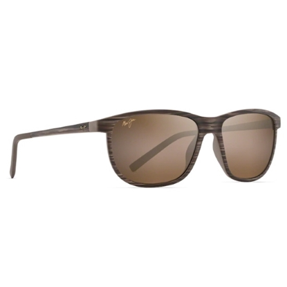 Picture of Maui Jim Dragons Teeth Sunglasses - Brown Stripe/HCL Bronze