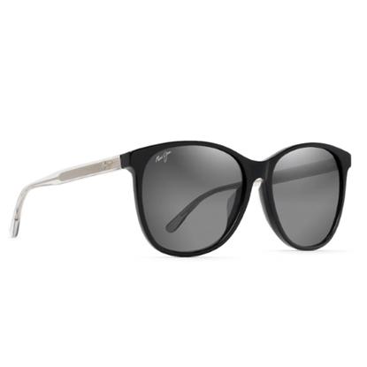 Picture of Maui Jim Isola Sunglasses- Black Translucent/Neutral Grey Lens