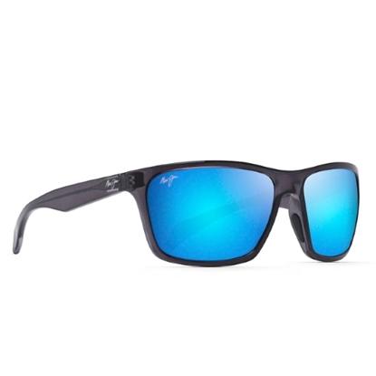 Picture of Maui Jim Makoa Sunglasses - Dark Translucent Grey/Blue Hawaii