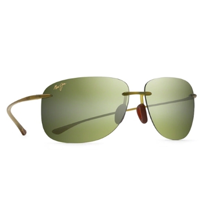 Picture of Maui Jim Hikina Sunglasses - Matte Olive/Maui HT Lens