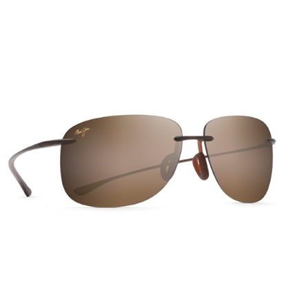 Picture of Maui Jim Hikina Sunglasses - Matte Rootbeer/HCL Bronze Lens