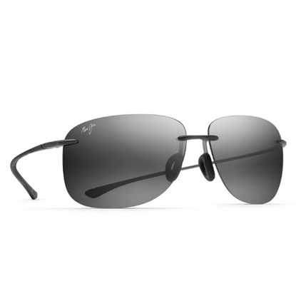 Picture of Maui Jim Hikina Sunglasses - Matte Grey/Neutral Grey Lens