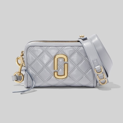 Picture of Marc Jacobs Quilted Softshot 21 - Rock Grey