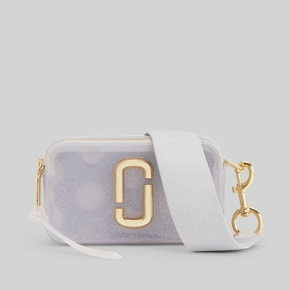 Picture of Marc Jacobs Jelly Gilter Snapshot - Silver Multi