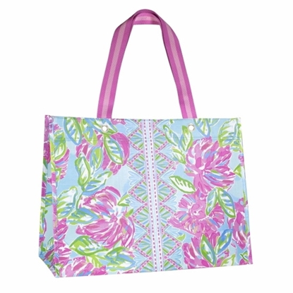 Picture of Lilly Pulitzer XL Market Shopper - Totally Blossom