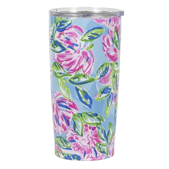 Picture of Lilly Pulitzer Stainless Thermal Mug - Totally Blossom