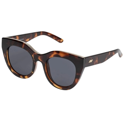 Picture of Le Specs Air Heart Sunglasses - Tortoise Frame/Smoke Lens