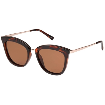 Picture of Le Specs Caliente Sunglasses - Tortoise/Rose/Brown Polarized