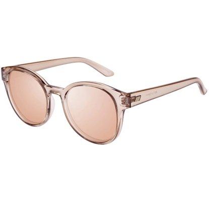 Picture of Le Specs Paramount Sunglasses - Tan Frame/Brass Mirror Lens