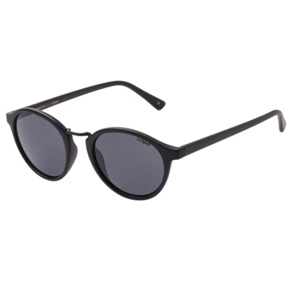 Picture of Le Specs Paradox Sunglasses - Black Frame/Smoke Lens