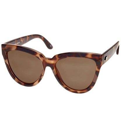 Picture of Le Specs Liar Lair Sunglasses - Volcanic Tortoise/Brown Lens