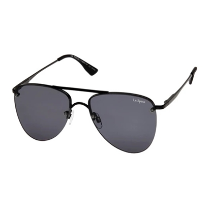 Picture of Le Specs The Prince Sunglasses - Black Frame/Smoke Lens