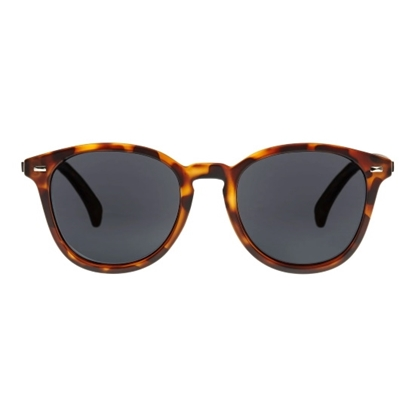 Picture of Le Specs Bandwagon Sunglasses - Tortoise/Smoke Polarized Lens