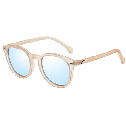 Picture of Le Specs Bandwagon Sunglasses - Raw Sugar/Blue Mirror Lens
