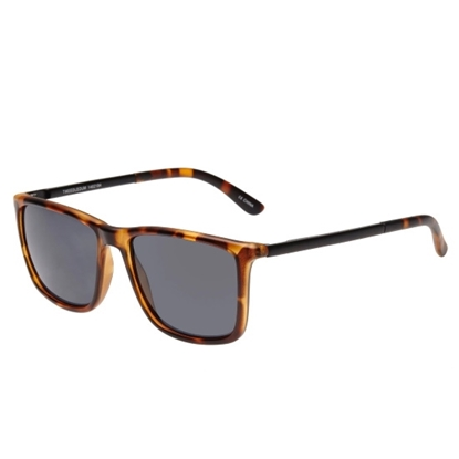 Picture of Le Specs Tweedledum Sunglasses - Tortoise Frame/Black Lens