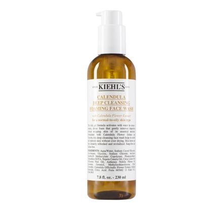 Picture of Kiehl's Calendula Deep Foaming Face Wash - 7.8oz.